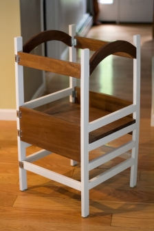 Toddler tower (folding, two-toned)